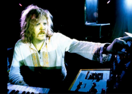 TD - Edgar Froese at work